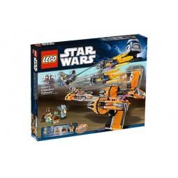 фото Конструктор LEGO Гоночные капсулы Анакина и Себулбы