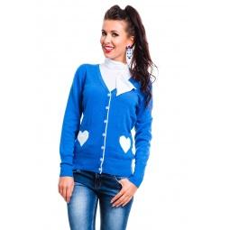фото Жакет Mondigo 10015. Цвет: синий. Размер одежды: 44