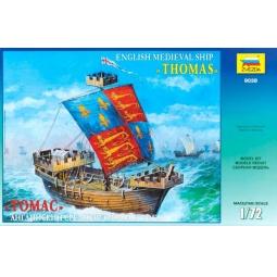 фото Сборная модель Звезда английский корабль «Томас»