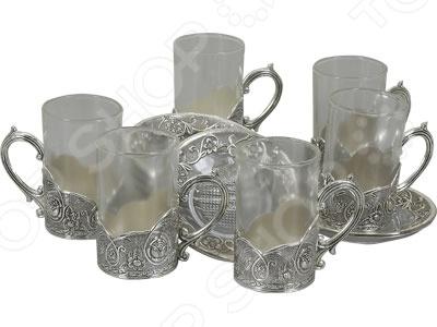 Кофейный набор Rosenberg 2211Чайные и кофейные сервизы и наборы<br>Набор кофейный Rosenberg 2211 изысканный набор великолепно выполненных предметов для распития напитков. Набор состоит из небольших, оригинально декорированных емкостей для кофе, которые прекрасно подойдут для организации кофейной церемонии. Все предметы расположены на собственных блюдцах. Размеры и объем:  Блюдце 11.5х11.5 см.  Стакан 5.5х5.5х10см, по 150 мл.  Ложка 12 см. Красивое оформление стола как праздничного, так и повседневного это целое искусство. Правильно подобранная посуда это залог успеха в этом деле.<br>