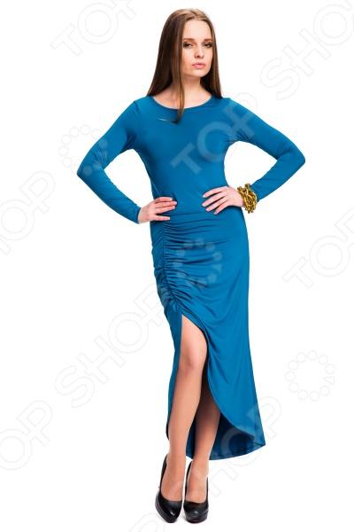 Платье Mondigo 7077. Цвет: морской волны