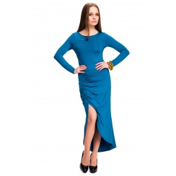 фото Платье Mondigo 7077. Цвет: морской волны. Размер одежды: 44