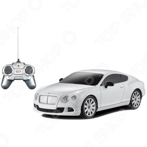 Машина на радиоуправлении Rastar Bentley Continental GT speed игрушка welly bentley continental supersports