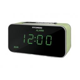фото Радиобудильник Hyundai H-1503U. Цвет: зеленый
