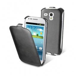 фото Чехол и пленка на экран Muvit Slim Case для Samsung S3 Mini. Цвет: черный
