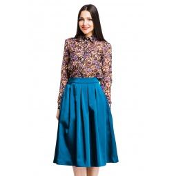 фото Блузка Mondigo 5048-1. Цвет: коричневый. Размер одежды: 48