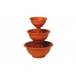 фото Каскад для цветов IDEA М 8518. Цвет: коричневый
