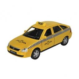Купить Модель автомобиля 1:34-39 Welly LADA PRIORA. Такси