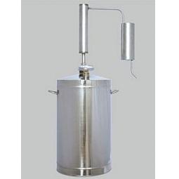 фото Самогонный аппарат с термометром и плиткой Первач «Классик»