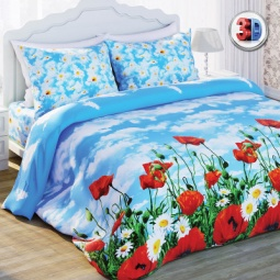 Купить Комплект постельного белья Любимый дом Солнечный мак. 2-спальный