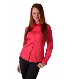 фото Рубашка Mondigo 9605. Цвет: красный. Размер одежды: 42