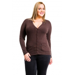 фото Жакет Mondigo XL 9786. Цвет: коричневый. Размер одежды: 48