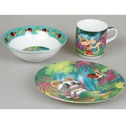 фото Набор посуды для детей Rosenberg 8791