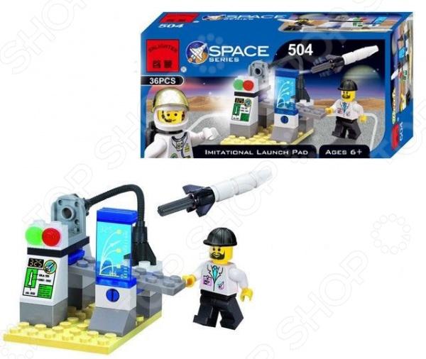 Конструктор игровой Brick 504 Imitational Launch Pad цена