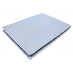 фото Простыня на резинке трикотажная ЭГО. Цвет: голубой. Размер простыни: 200х200 см