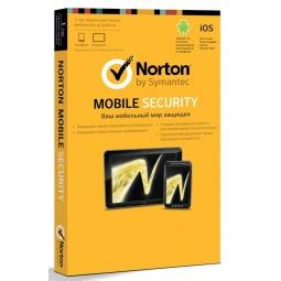Купить Антивирусное программное обеспечение Symantec Norton Mobile Security 3.0 RU 1 User 1C Card MMM