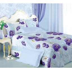 фото Комплект постельного белья Белиссимо «Иллюзия». 2-спальный. Цвет: сиреневый