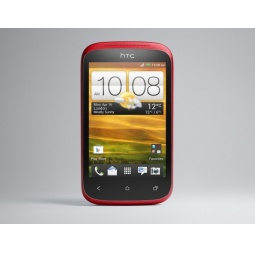 фото Смартфон HTC Desire C. Цвет: красный