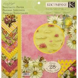 Купить Набор бумаги для скрапбукинга K&Company «Весна»
