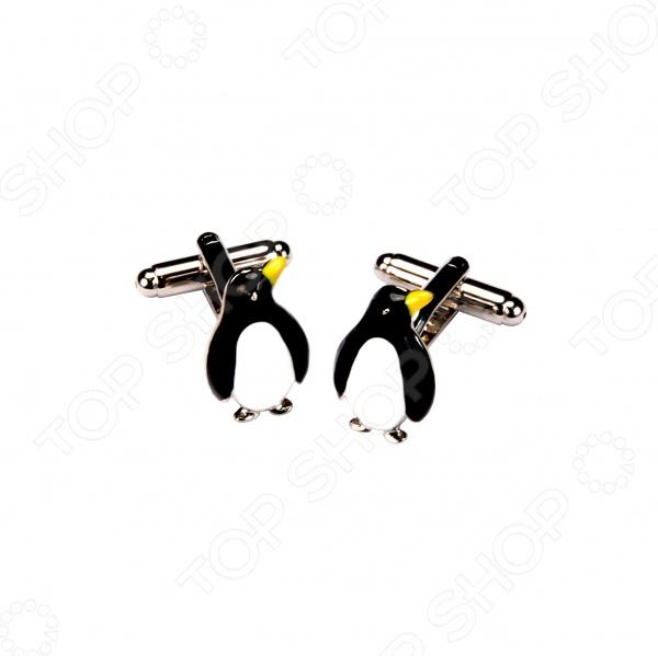 Запонки Mitya Veselkov «Пингвины» запонки mitya veselkov пингвины
