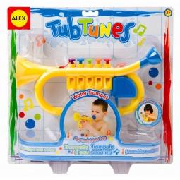 фото Игрушка для ванны Alex «Водяная труба с нотами»