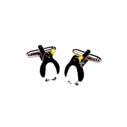 фото Запонки Mitya Veselkov «Пингвины»
