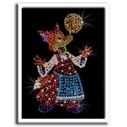 фото Мозаика из пайеток Волшебная мастерская «Лисичка»