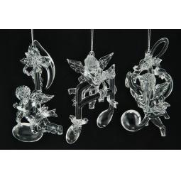 Купить Елочное украшение Crystal Deco «Ангел с нотой». В ассортименте