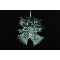 фото Елочное украшение Crystal Deco «Колокольчик» 1707731
