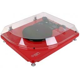 фото Проигрыватель USB виниловый и MP3-конвертер ION Pure LP. Цвет: красный