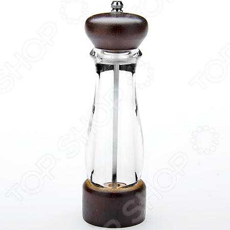 Мельница для перца Mayer&amp;amp;Boch MB-23887Мельницы для специй. Диспенсеры<br>Мельница для перца Mayer Boch MB-23887 незаменимый кухонный аксессуар, который сделает процесс приготовления любимых блюд ещё проще и быстрее. Ни для кого ни секрет, что свежемолотый душистый перец или соль придают блюду более насыщенный аромат и вкус, нежели специи крупного помола. Прозрачный корпус мельницы позволяет наблюдать за процессом помола, а вращающийся регулятор - настроить грубость помола. Мелющий механизм выполнен из прочного и надежного металла, который обеспечивает прочность и долговечность изделий, а стильный современный дизайн станет великолепным дополнением к вашему кухонному интерьеру.<br>