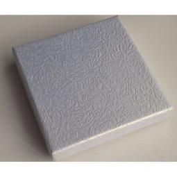 фото Коробка подарочная Феникс-Презент «Серебряный». Размер: XS (9х9 см). Высота: 2 см