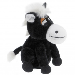 фото Мягкая игрушка интерактивная Woody O'Time «Лошадка Непоседа». Цвет: черный