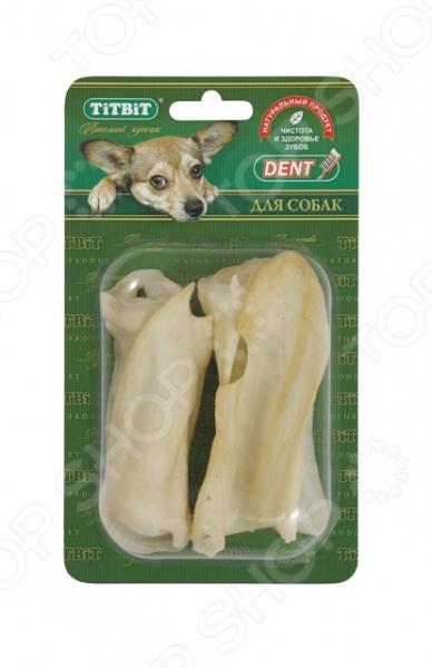 Лакомство для собак TiTBiT 7053 «Ухо баранье Б2-XL» лакомство для собак titbit баранье ухо 3 шт