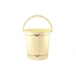 Купить Ведро круглое Violet 0112БК «Беленый дуб»