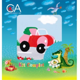 Купить Канва для вышивания с нитками Collection D'art 1003K