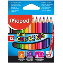 фото Набор цветных треугольных мини-карандашей Maped 832500