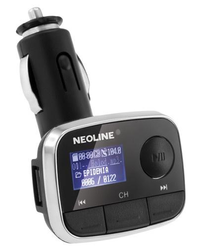 FM-трансмиттер Neoline Bliss FM fm трансмиттер neoline bullet fm