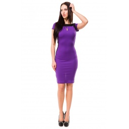 фото Платье Mondigo 5064. Цвет: фиолетовый. Размер одежды: 46
