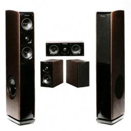 фото Комплект акустики для домашнего кинотеатра WHARFEDALE Obsidian 600. Цвет акустических систем: венге