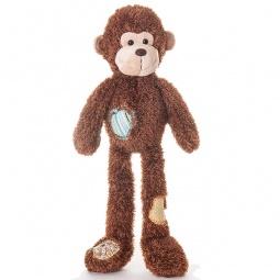 фото Мягкая игрушка Aurora «Обезьянка с заплатками»