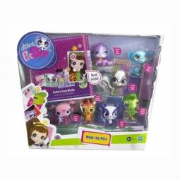 фото Набор игровой для девочек из 7 зверюшек Littlest Pet Shop