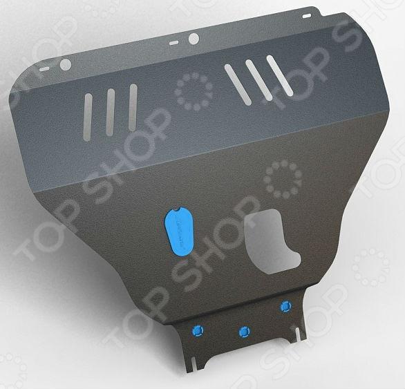 Комплект: защита КПП и крепеж Novline-Autofamily Infiniti M37 2011: 3,7 бензин АКППЗащита картера двигателя<br>Комплект: защита КПП и крепеж Novline-Autofamily Infiniti M37 2011: 3,7 бензин АКПП защитный набор для автомобильного двигателя, весьма актуальный в условиях бездорожья. Установленный комплект представлен в виде металлической конструкции, чьей основной функцией является предотвращение механических повреждений во время наезда на препятствие. Изделие имеет дополнительные ребра жесткости для большей прочности. Крепежные элементы выполнены из холоднокатаной стали с катодно-цинковым и порошковым покрытиями против ржавчины и заедания резьбы при установке. Защита картера и элементы крепежа легко устанавливаются, не нарушая температурный режим и выхлопную систему машины. Современный метод 3D-сканирования позволил индивидуально разработать данный комплект защиты картера двигателя специально для автомобиля Infiniti M37. Высокоточные лазерные резаки и современные способы покраски гарантируют высокое качество изделия. В крепеже предусмотрены отверстия для слива масла, облегчая тем самым техническое обслуживание. Специальные демпферы предотвращают возникновение вибрации во время движения, надежно оберегая нижнюю часть кузова от ударов и трений с защитой. Товар, представленный на фотографии, может незначительно отличаться по форме от данной модели. Фотография представлена для общего ознакомления покупателя с цветовым ассортиментом и качеством исполнения товаров данного производителя.<br>