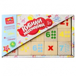 Купить Кубики обучающие Alatoys «Математика» КБМ1500