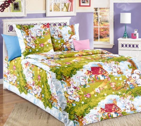 Комплект постельного белья ТексДизайн «Лесная опушка» комплект постельного белья тексдизайн эдгар