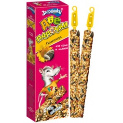 фото Лакомство для крыс и мышей ЗООМИР 690 «Зверюшки. Подсолнух»