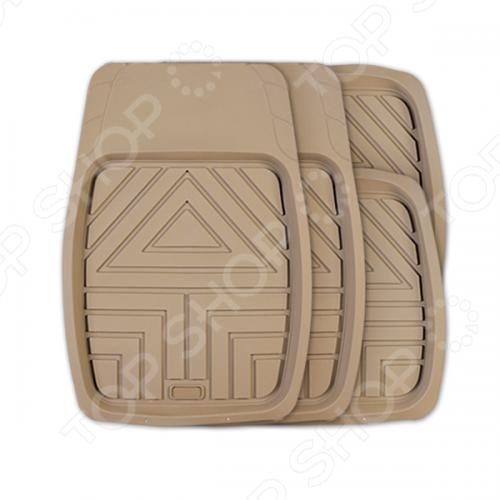 Набор ковриков-ванночек для салона Autoprofi TER-110 чехол на сиденье autoprofi gob 1105 gy line m