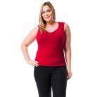 Фото Майка Mondigo XL 387. Цвет: бордовый. Размер одежды: 48