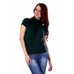 фото Свитер вязаный Mondigo 9757. Цвет: темно-зеленый. Размер одежды: 44