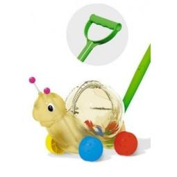 Купить Каталка для малыша на палочке Стеллар «Улитка» 01359